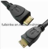 Mini-HDMI zu Mini HDMI Cable Support Ethernet und 3D