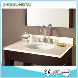 Countertops тщеты ванной комнаты камня кварца Calacutta искры чисто белые
