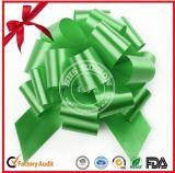 Arqueamiento del tirón del brillo POM POM del embalaje del rectángulo de la decoración de la Navidad