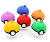 2016 neues nettes Pokemon Pokeball USB-grelles Feder-Laufwerk