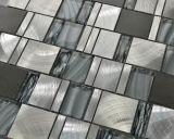 Vidrio cristalino del mosaico del azulejo y del mármol del mosaico del azulejo de aluminio mixto (FYL107)