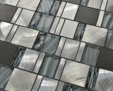 Плитка мозаики плитки & мрамора мозаики кристаллический стекла смешанная алюминиевая (FYL107)