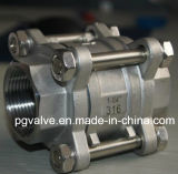 Professionele OEM Valve Manufacturer voor Floating 3PC Ball Valve