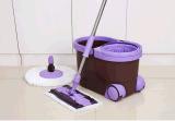 Lavette de rotation avec la lavette plate