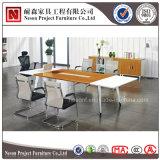 나무로 되는 2 바탕 화면 (NS-CF001)를 가진 우아한 회의장 회의 테이블