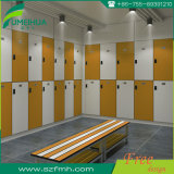 HPL Compact Laminate 1200 * 400 * 1900mm Electronic Safe Cabinet Locker