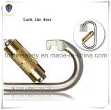 Double LockingのOEM Cold Formed Steel Carabiner