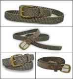 Belt del cuoio genuino della signora neutra fredda