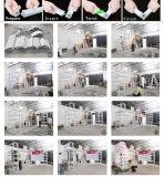 cabina versátil &Portable reutilizable los 20FT de aluminio de la exposición de la feria profesional de la tela del 10FT