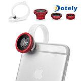 3 en 1 lente granangular de Fisheye Lens+ Lens+Macro del kit de la lente de cámara para los teléfonos móviles del &Other del &Samsung del iPhone