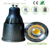 9W de Dimmable MR16 LED COB bulbo