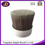 Filament conique solide serti pour le pinceau