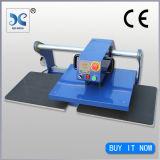 Double station glissant la machine pneumatique de presse de la chaleur