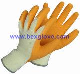 Перчатка работы латекса, перчатка сада, любой цвет