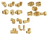 Instalación de tuberías de cobre amarillo de la unión (A. 0355)