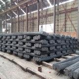 Barra d'acciaio deforme laminata a caldo di B500b dal fornitore della Cina Tangshan (tondo per cemento armato 6-25mm)
