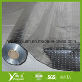 Aislamiento tejido reflexivo laminado el PE del papel de aluminio de la tela