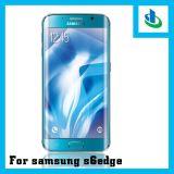 protectores curvados 9h de la pantalla del vidrio Tempered del borde 3D para el borde de Samsung S6 (electrochapar)