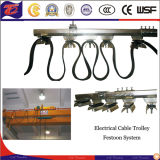 Steel inoxidable Power Didtribution Crane Cable para Crane/Hoist