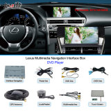 Carro Multimedia Navigation Interface Box para Lexus Hiphone Navigation, USB, Rear