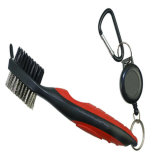 Club di golf di lusso Cleaning Brush con Retractor Golf Groove Cleaner