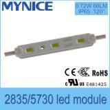 Bom módulo do diodo emissor de luz do preço 2835/5730SMD 0.72W para o sinal