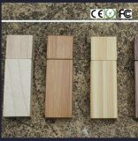 SoemLogo Free Sample Wooden USB Flash Drive 4G