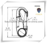 Crochet En361 d'échafaudage d'absorbeur d'énergie de protection de chute