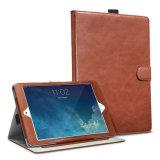 Bunter Kasten-Einbauschlitz-Leder-Deckel der Soem iPad Luft-2