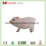 Figurine ereto do porco bonito realístico de Polyresin para os ornamento Home da decoração e do jardim