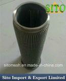 Filtro de cartucho de acero inoxidable 316L, Plegado de alambre tejido de malla de filtro