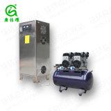 산업 물 처리 물 오존 발생기에 있는 100g 오존 발전기