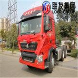 인도네시아에 있는 Sinotruk HOWO T5g 6X4 트랙터 트럭 최신 판매