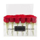 Fabricant en usine Boîte à fleurs en acrylique clair / Boîte en acrylique Rose