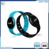 Wristband intelligente del braccialetto di Reate Bluetooth del cuore del pedometro