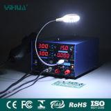 Estación que suelda del USB SMD de Yihua 853D 3A con la luz del LED