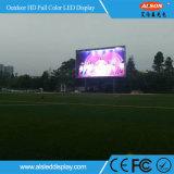 Panneau d'écran polychrome extérieur de P16 DIP346 DEL pour le mur de construction