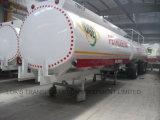 半3axle 37000Lの液体の化学タンカーのトレーラー