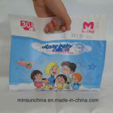Пластичный бортовой мешок коробки упаковки Gusset для пеленок младенца