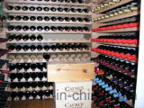 Prateleiras de indicador Stackable do vinho da cremalheira do frasco do armazenamento da madeira contínua