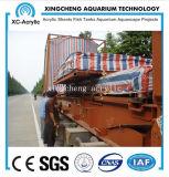 Precio de acrílico curvado material de acrílico modificado para requisitos particulares del proyecto del acuario de la hoja