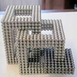 Esferas Bucky magnéticas do diâmetro de esfera 5&6 de NdFeB da fonte N35 a longo prazo milímetro um um grupo de 216