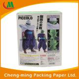 Caixa de presente do papel de qualidade superior com o indicador desobstruído do PVC