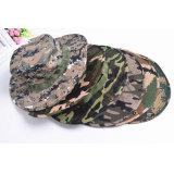 Het Katoen van 35% en Hoed Bonnie van de Camouflage van het Leger van de Polyester van 65% de Openlucht