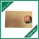 Caixa ondulada do encarregado do envio da correspondência do livro de Brown da impressão feita sob encomenda