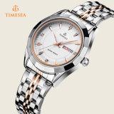 Presente análogo Watch72370 do pulso do relógio de quartzo do indicador de aço do Mens