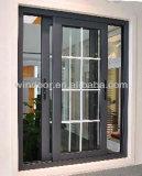 PVC che fa scorrere lastra di vetro singola/finestra di vetro Tempered del doppio, finestra poco costosa del PVC di prezzi