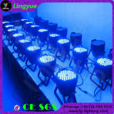 RGB 3in1 54PCS 3watt DMX etapa PAR LED