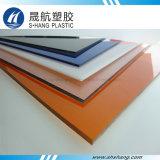 Panneau isolant en plastique incassable de polycarbonate de feuille avec la transparence élevée