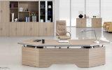 Mesa de escritório executivo de madeira da mobília chinesa luxuosa moderna
